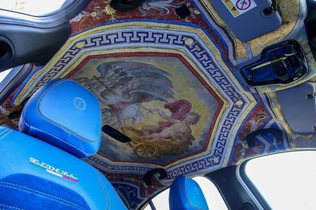 Interni dell'Alfa Romeo Giulia Grand Tour firmata Garage Italia
