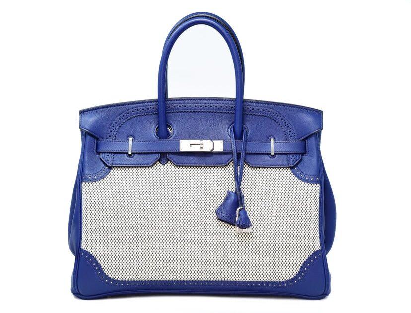All'asta la Hermès Birkin Phillies 35 in edizione limitata